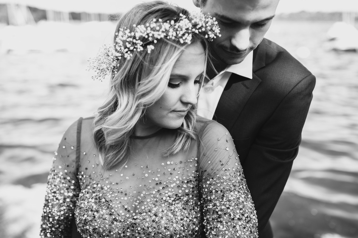 black_and_white_photo_sequin_engagement_shoot_dress.jpg