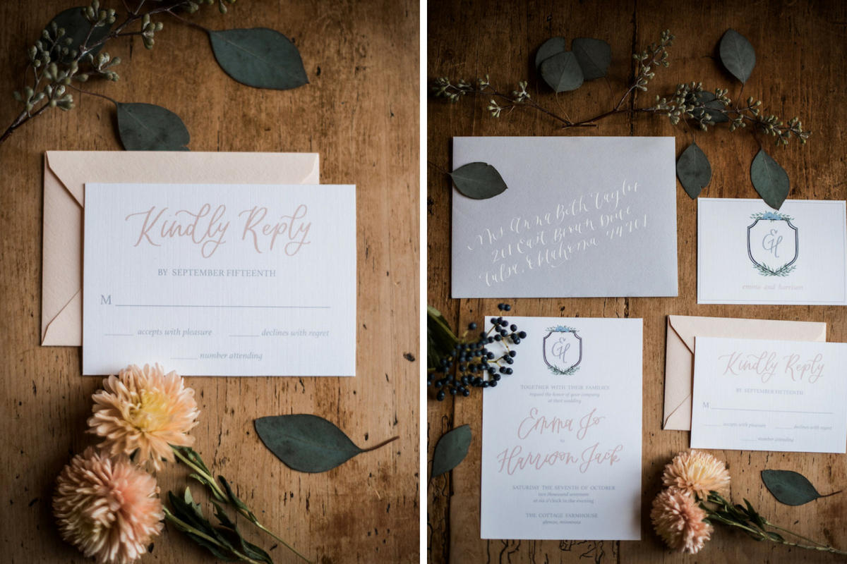 boho_chic_wedding_stationery_on_wood_flatlay_flowers.jpg