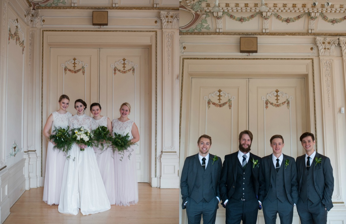 bride_bridesmaids_blush_dresses_green_bouquets_groom_groomsmen_navy_gray_tuxes.jpg
