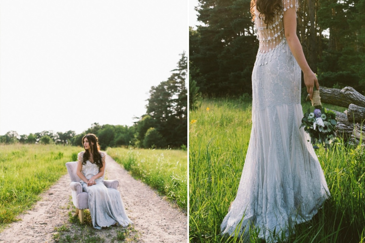 bride_sitting_on_light_lavender_chair_in_field_dirt_path.jpg
