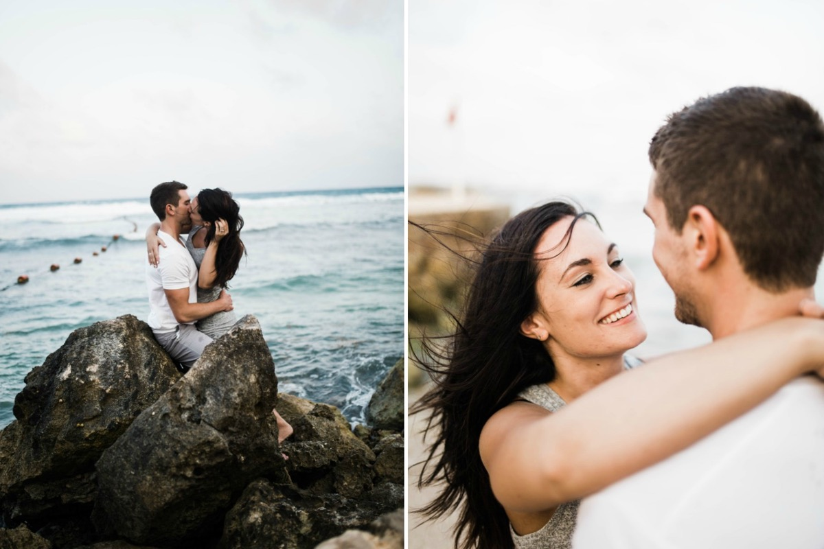 couple_kissing_on_pointy_rocks_beach_mexico_engagement.jpg