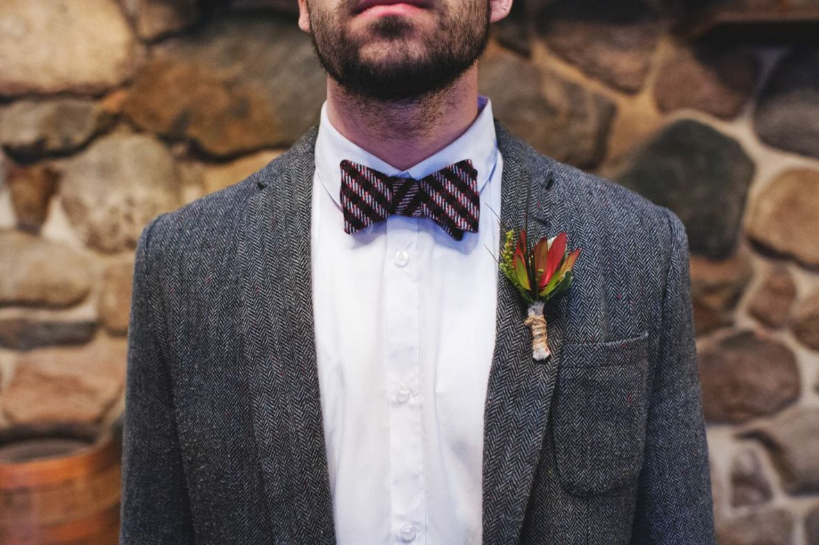 cozy_winter_groom_suit_gray_plaid_flannel_bowtie.jpg