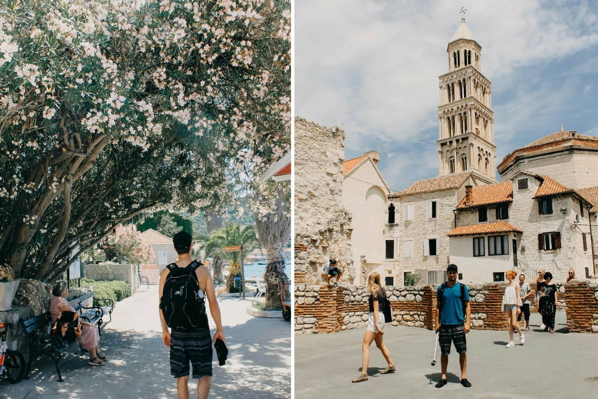 croatia_honeymoon_flowers_bell_tower.jpg