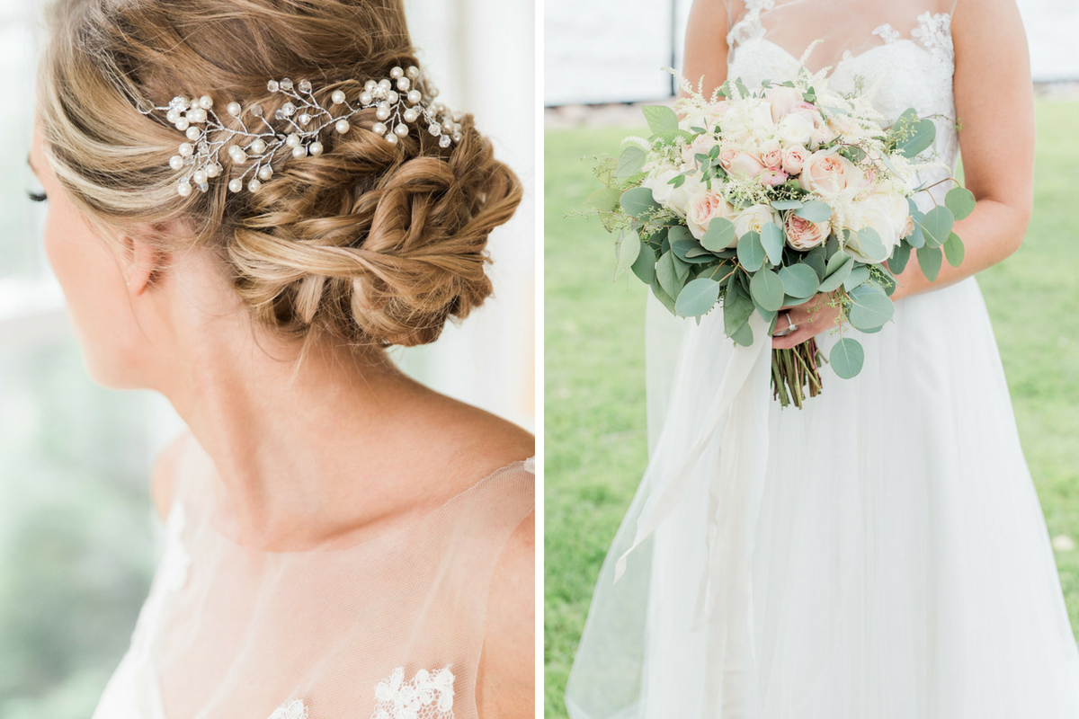 details_of_intricate_bridal_updo_bun_with_white_pearl_hair_accessory_and_floral_bouquet.jpg