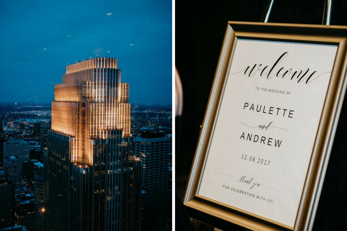 elegant_gold_wedding_sign_and_city_skyline_picture_minneapolis_minnesota.jpg