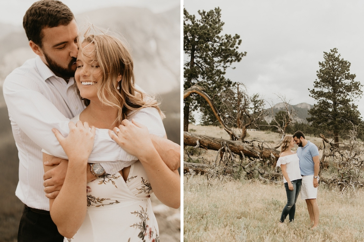 engagement_in_colorado_state_park_couple_embracing_laughing_in_field.jpg