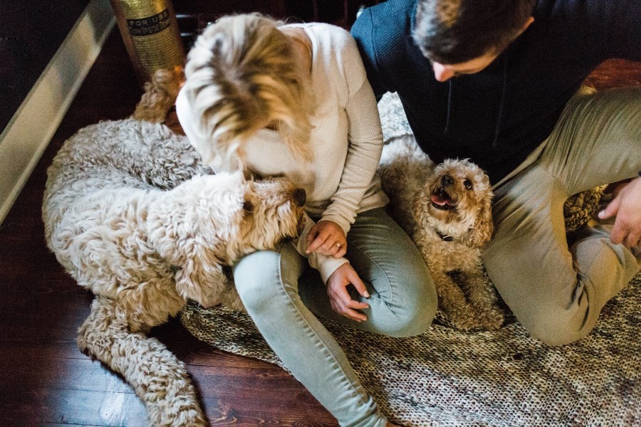 engagement_photos_in_house_with_dogs_on_floor.jpg