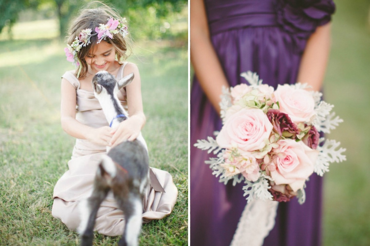 flower_girl_pink_crown_petting_goat_wedding.jpg