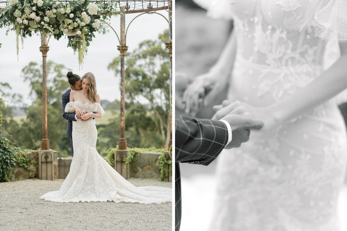 french_bride_and_groom_hold_hands_embrace_in_beautiful_courtyard.jpg