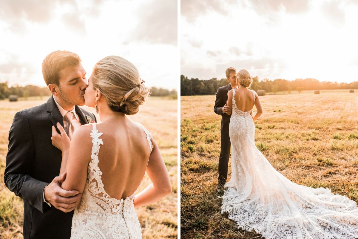 groom_kissing_bride_in_golden_field_at_farm_sunset.jpg