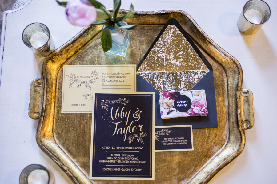 navy_gold_sequin_invitation_suite_gold_plate.JPG