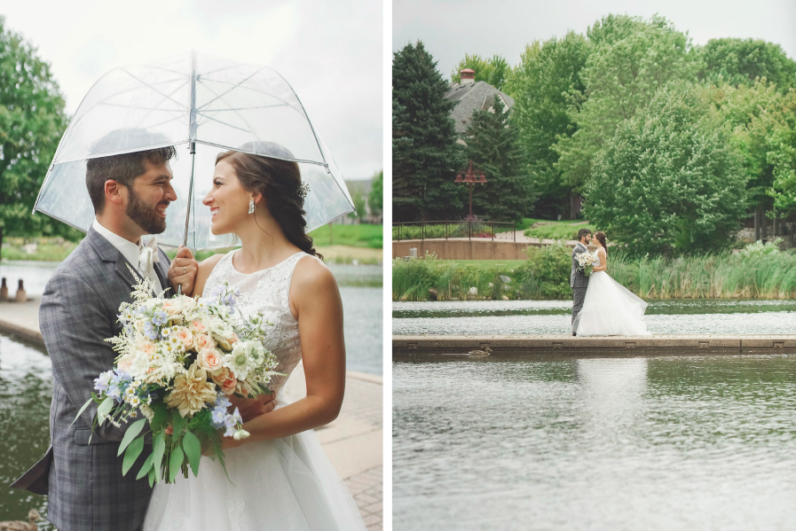rainy_wedding_day_clear_umbrella_minnesota_pond.png