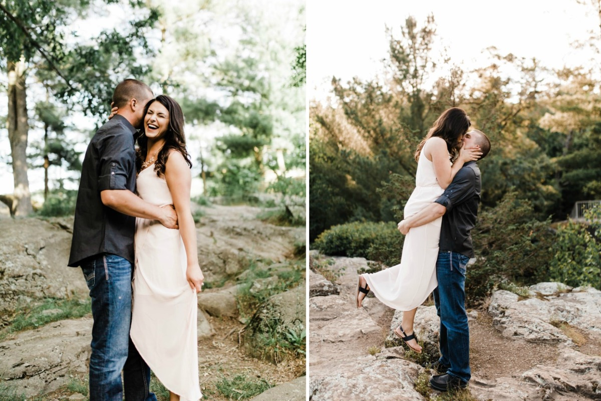 taylors_falls_engagement_photos_on_rocks_white_dress.jpg