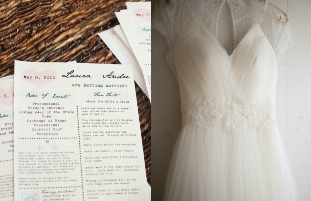 wedding_programs_pink_blue_bridal_gown_with_lace.jpg