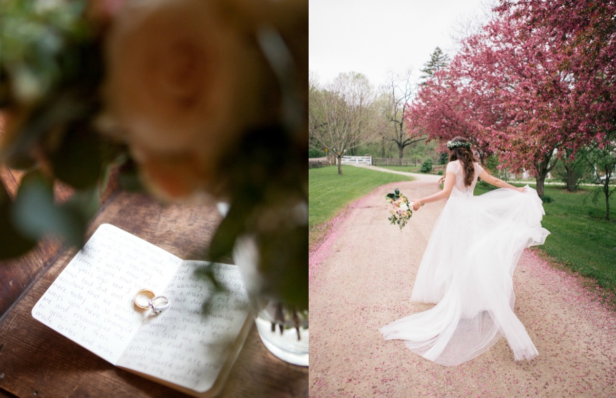 wedding_rings_on_love_letters_bride_twirling_dress_near_pink_cherry_orchard_blossom_trees.jpg