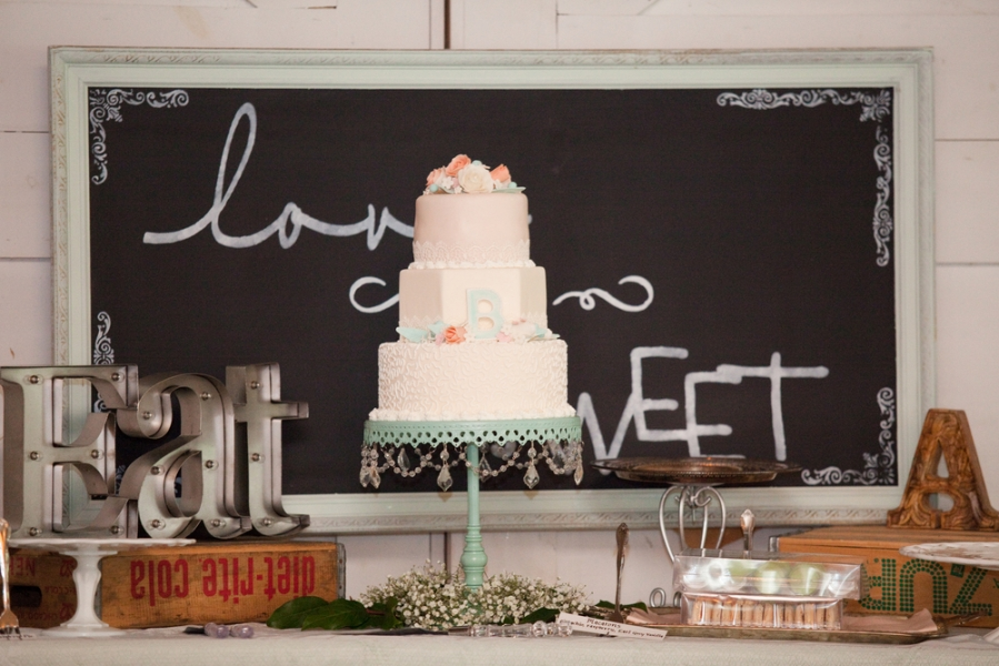 white_pink_green_cake_on_platter_love_is_sweet_chalkboard_sign.jpg